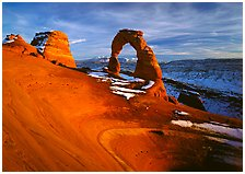 Delicate Arch, Arches National Park, Utah.  ( )
