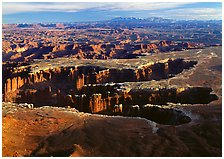 Grand View Point, Canyonlands National Park, Utah.  ( )