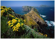 Inspiration Point, Channel Islands National Park, California.  ( )