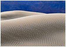 Mesquite Sand Dunes, Death Valley National Park, California.  ( )