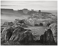 Hunts Mesa, Monument Valley, Arizona, 2008.  ( )