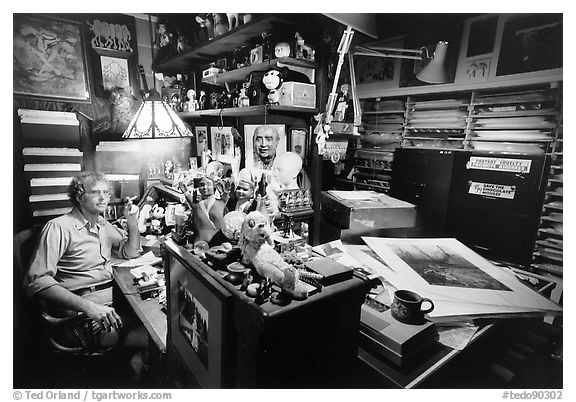 Jerry Uelsmann at Home, 1979.  ()
